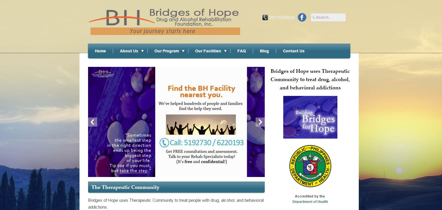 Bridges of Hope Homepage
