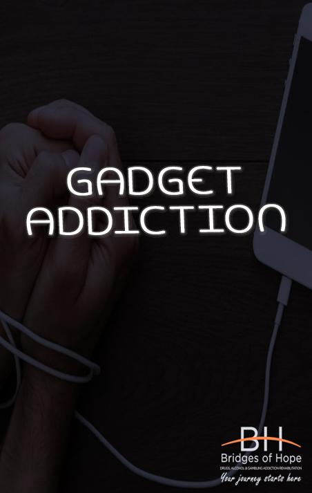 gadget addiction