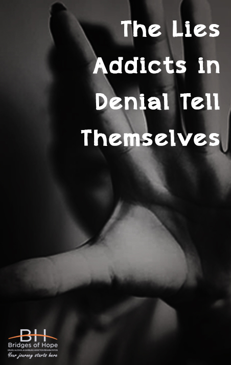 addiction excuses in denial