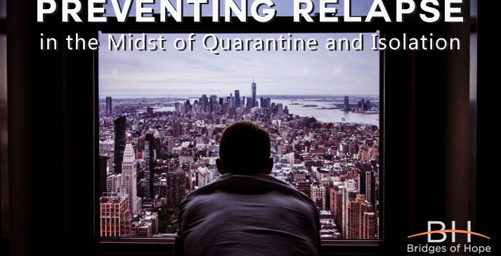 preventing relapse quarantine isolation covid-19
